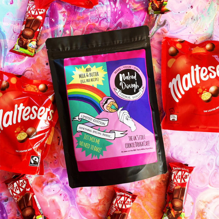 Make Your Own Naked Dough - limited edition Easter Bunny Poos flavour.