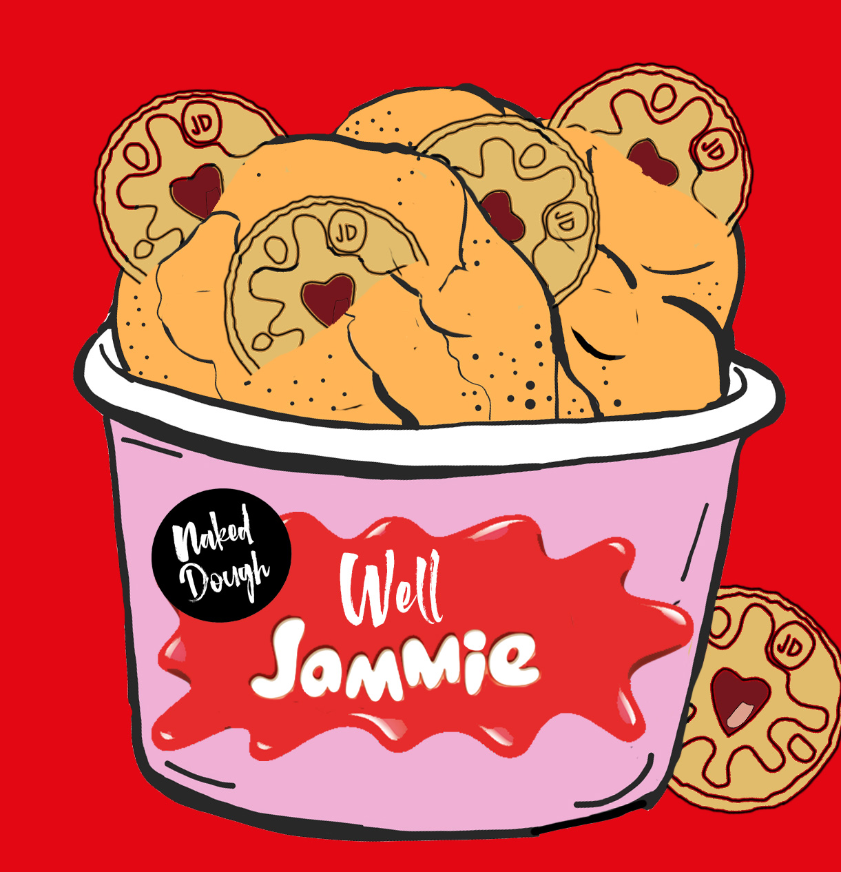 Well Jammie cookie dough.