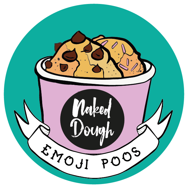 Emoji Poos Edible Cookie Dough.