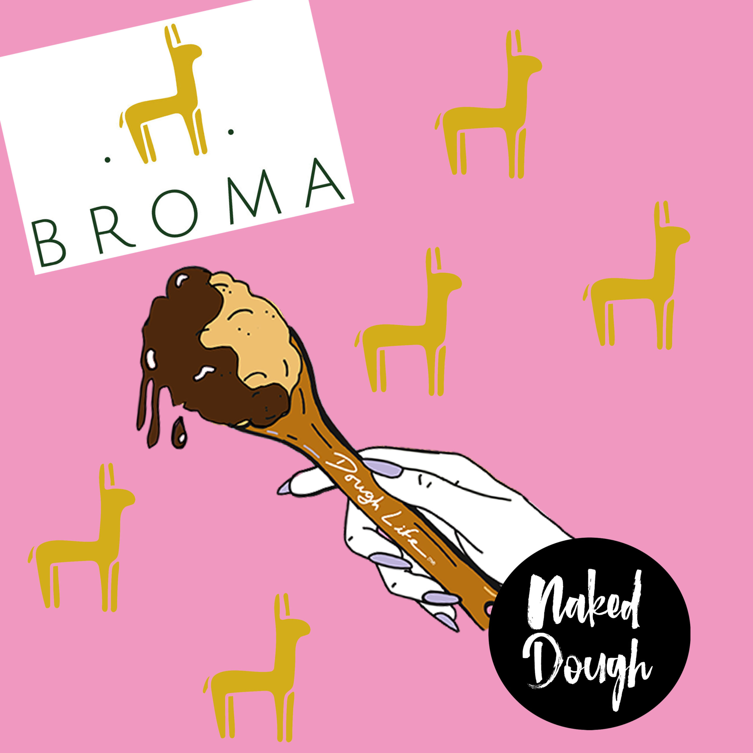 Limited Edition Broma Sauce Cookie Dough.