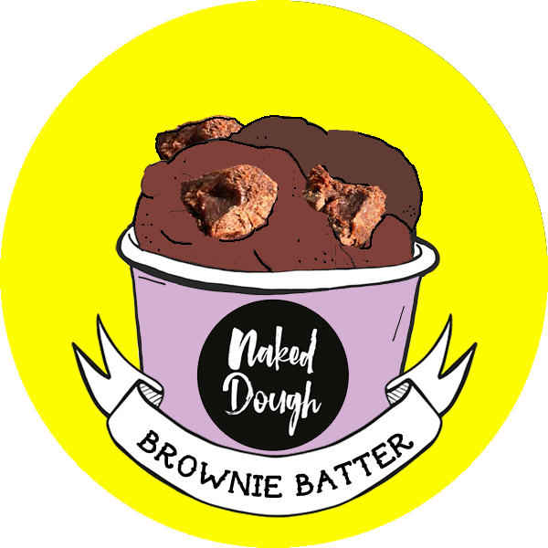 Brownie Batter Edible Cookie Dough.